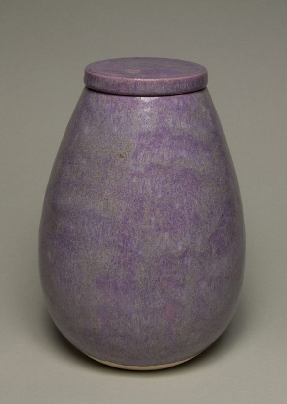 Urna na prochy w kolorze wrzosowo szarym